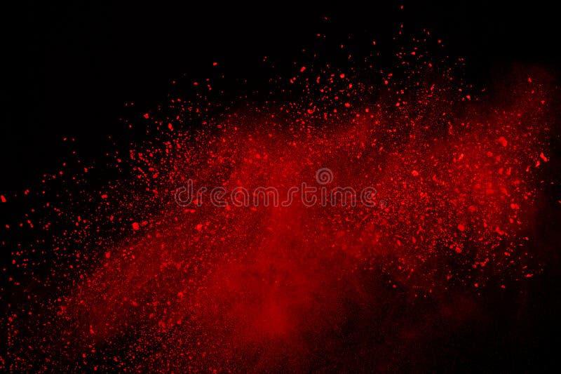 Barwiony prochowy wybuch Colore pył splatted zdjęcia royalty free