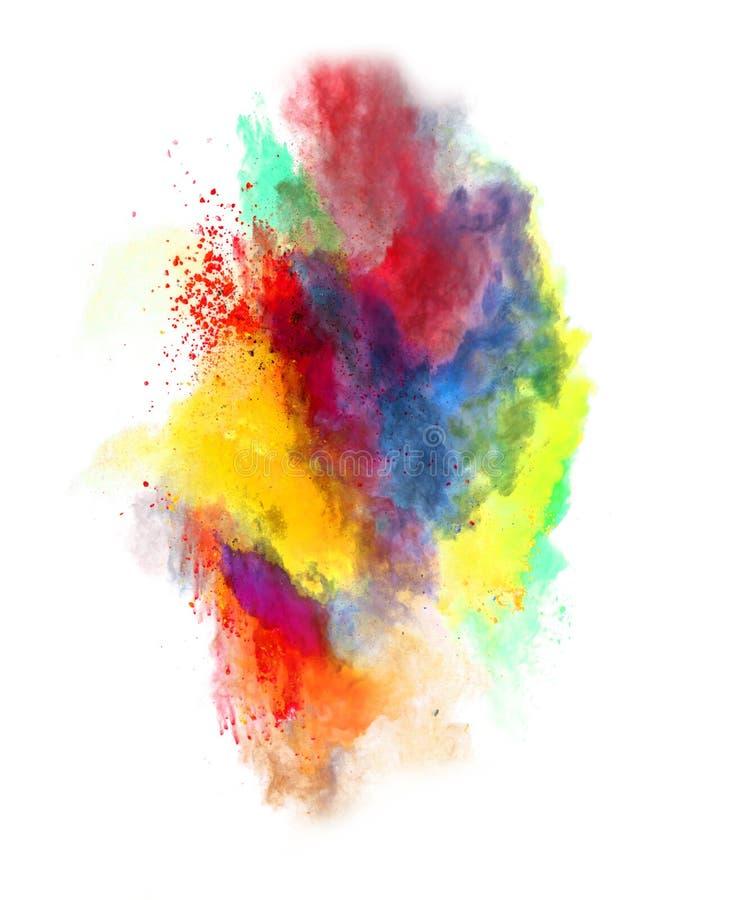 Barwiony pył zdjęcie royalty free
