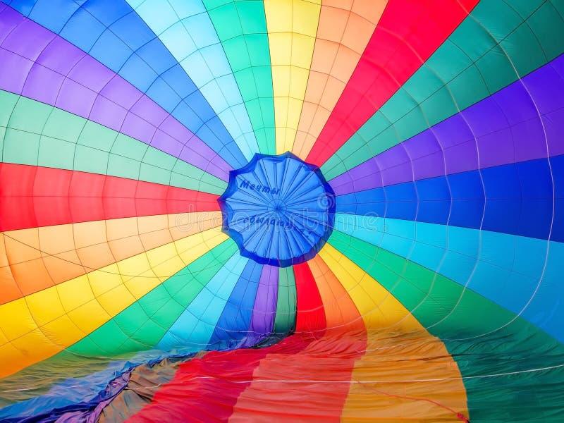 Barwiony spadochronowy tło zdjęcia royalty free
