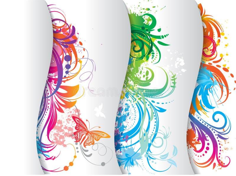barwiony sztandaru set