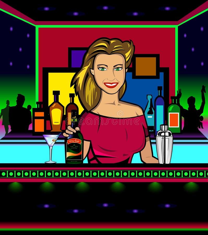 Barwoman libre illustration