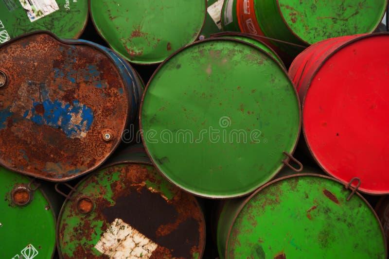 baryłki komputer wytwarzającego wizerunku oleju zdjęcie stock
