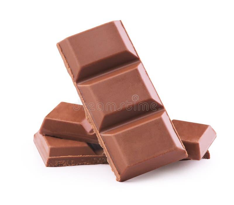 bary łamających czekolada obrazy royalty free