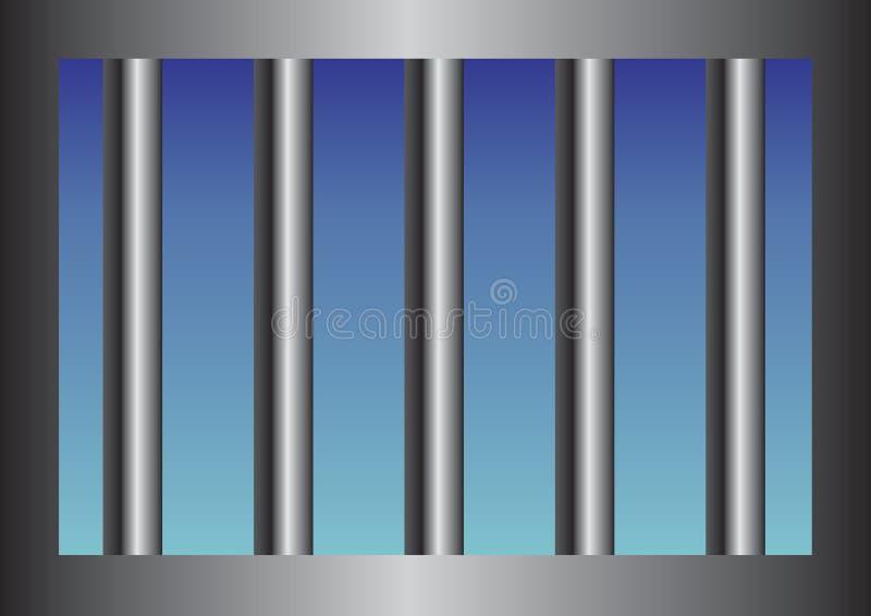 bary więzienie ilustracji