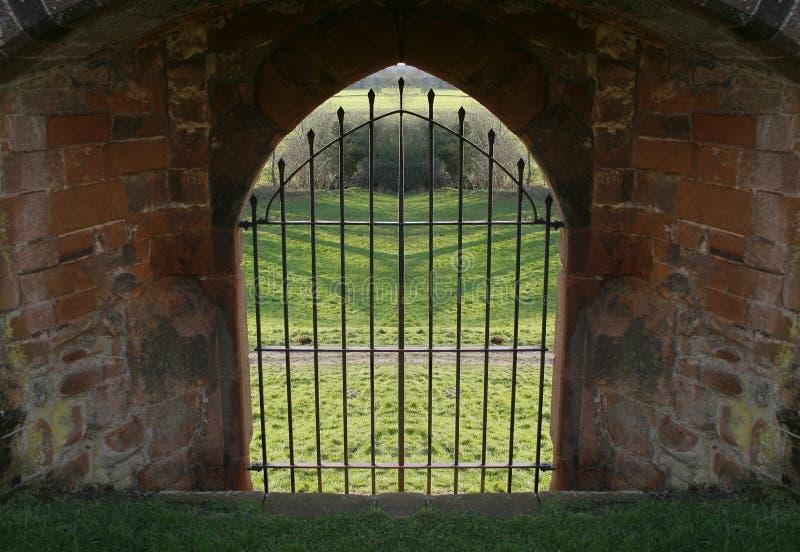 bary zamek ściany zdjęcie stock
