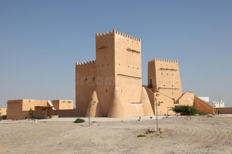 Barzan Tower in Doha, Qatar royalty-vrije stock afbeelding