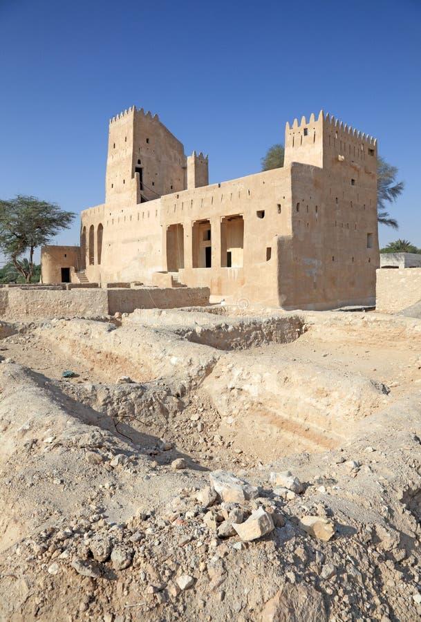 Barzan Tower histórico em Doha, Catar imagem de stock royalty free