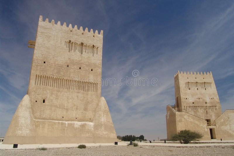 Download Barzan Towers stock photo. Image of arabia, whispy, towers - 1417466