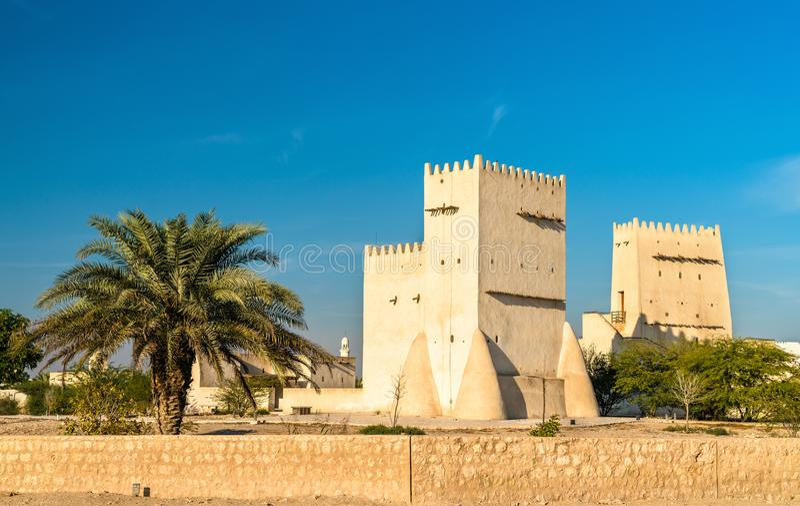 Barzan Towers, atalayas en Umm Salal Mohammed cerca de Doha, Qatar foto de archivo libre de regalías