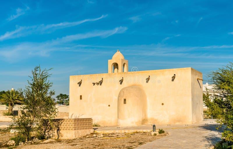 Barzan Towers, watchtowers in Umm Salal Mohammed dichtbij Doha, Qatar royalty-vrije stock afbeeldingen