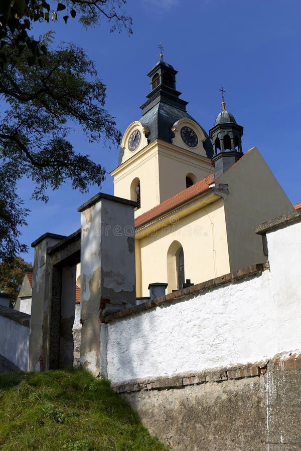 Basílica barroca de la Virgen María del Visitation, lugar del peregrinaje, Hejnice, República Checa imagen de archivo