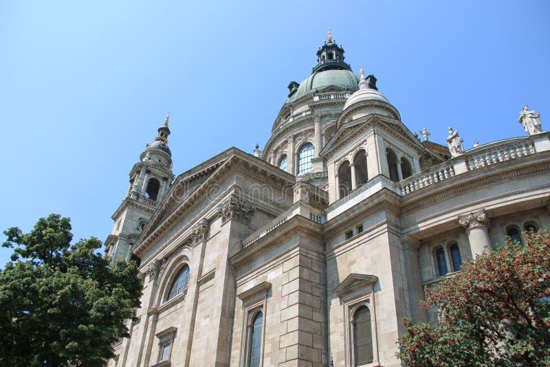 Basílica Budapest do ` s de St Stephen fotos de stock