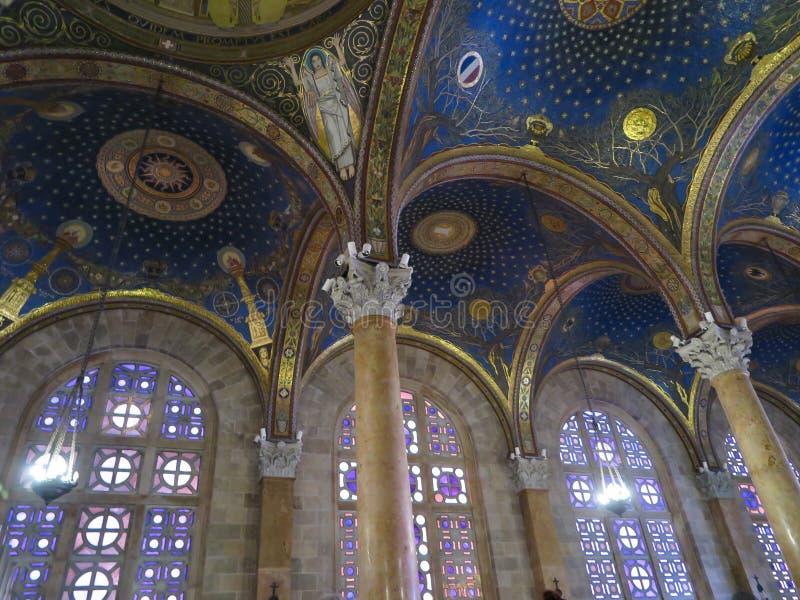 Basílica da agonia fotos de stock royalty free