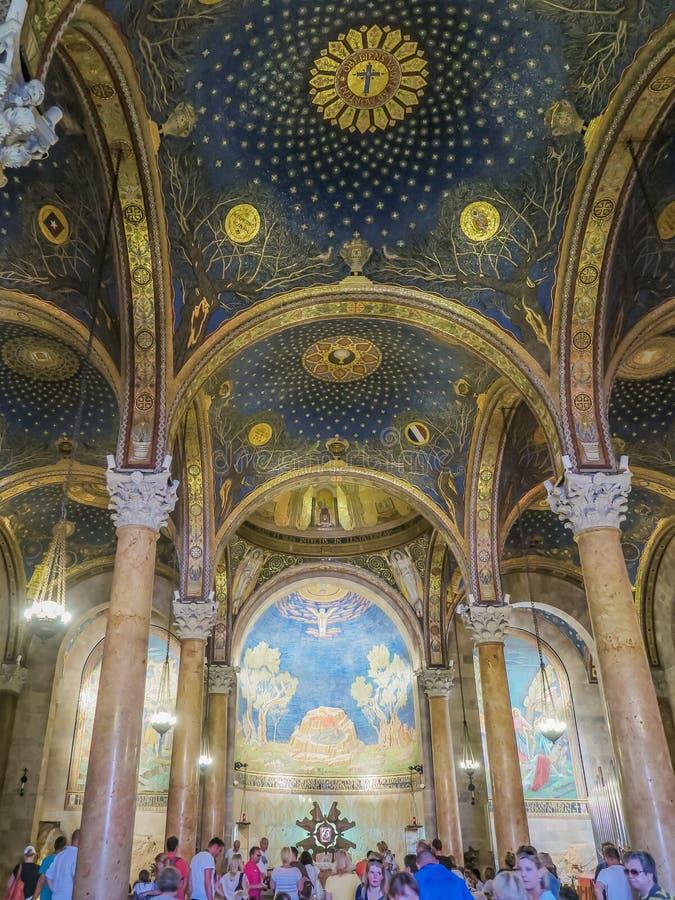 Basílica da agonia imagens de stock