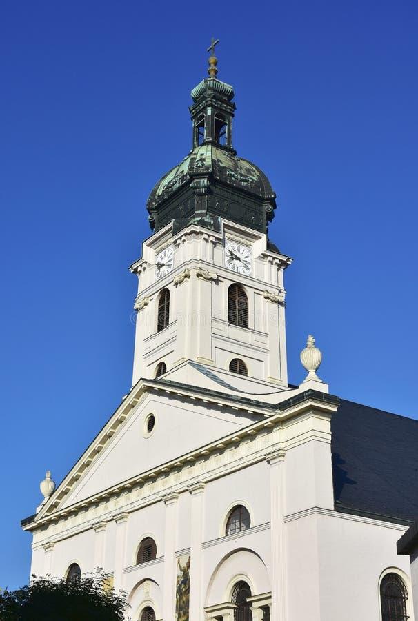 Basílica da suposição da Virgem Maria imagens de stock