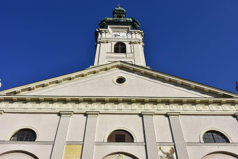 Basílica da suposição da Virgem Maria imagens de stock royalty free
