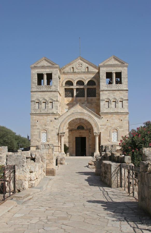 Basílica da transfiguração fotos de stock