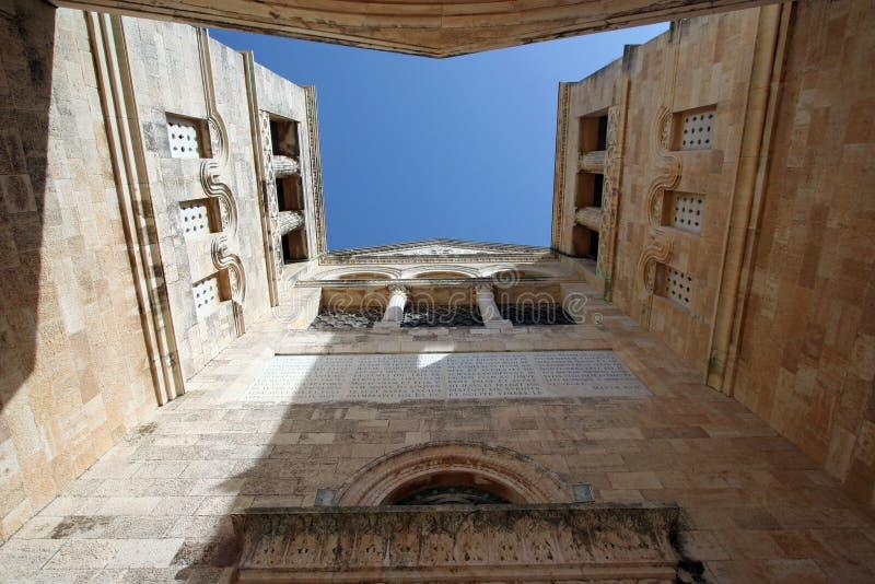 Basílica da transfiguração imagem de stock royalty free