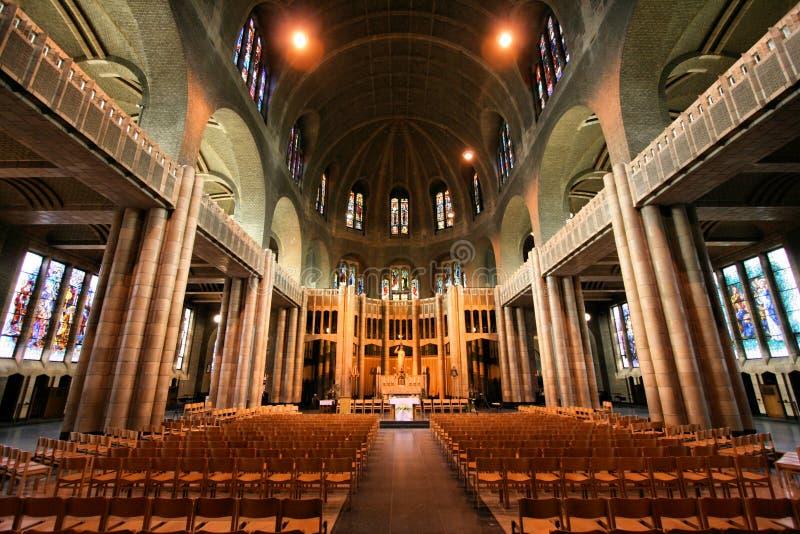 Basílica de Bruxelas imagens de stock