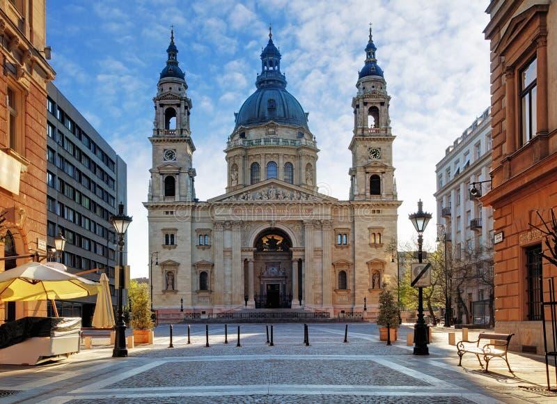 Basílica de Budapest - de St Stephen, Hungría fotografía de archivo