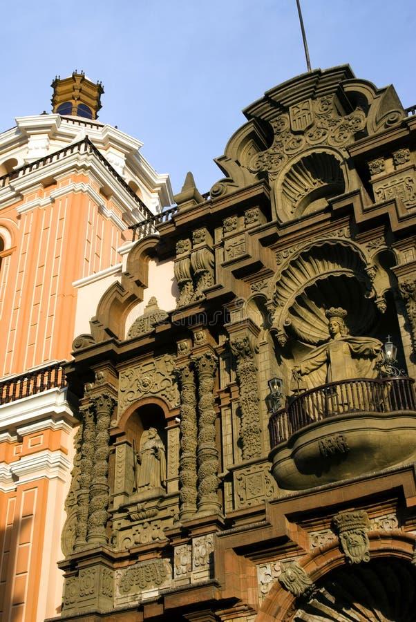 Basílica de de merced la Lima Perú foto de archivo libre de regalías