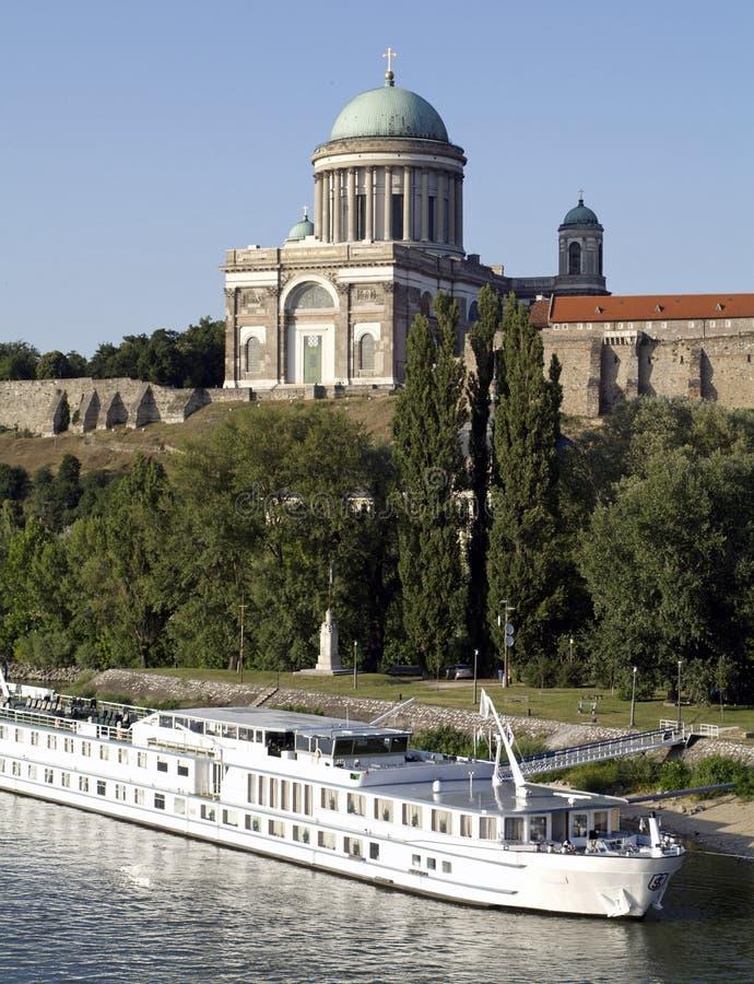 Basílica de Esztergom imagen de archivo