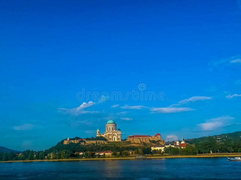 Basílica de Esztergom, Hungría fotos de archivo libres de regalías