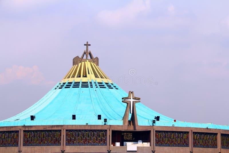 Basílica de Guadalupe I fotos de archivo