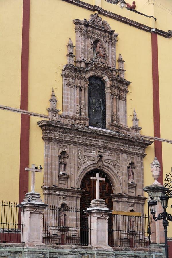 Basílica de Guanajuato foto de stock royalty free