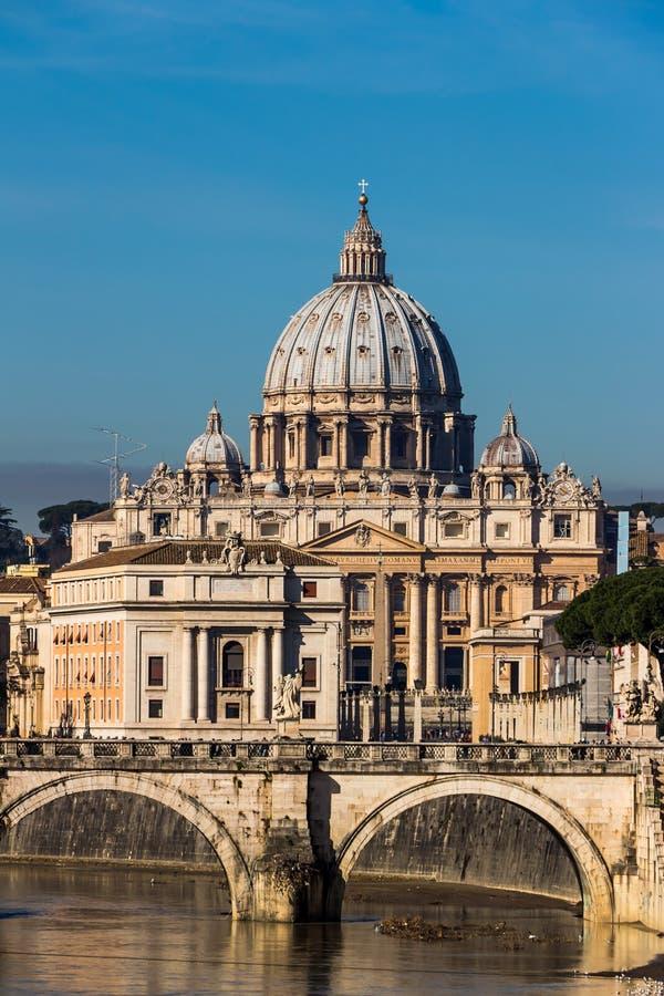 Basílica de Itália, Roma, St Peters fotografia de stock