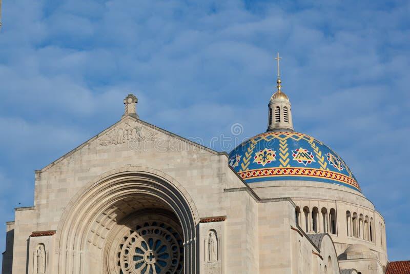 Basílica de la capilla nacional imágenes de archivo libres de regalías