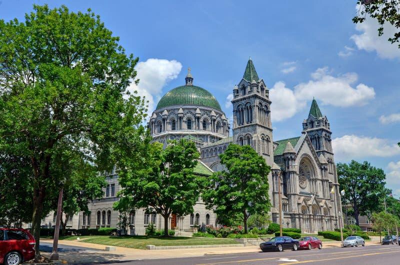 Basílica de la catedral de St. Louis, Missouri imagen de archivo libre de regalías