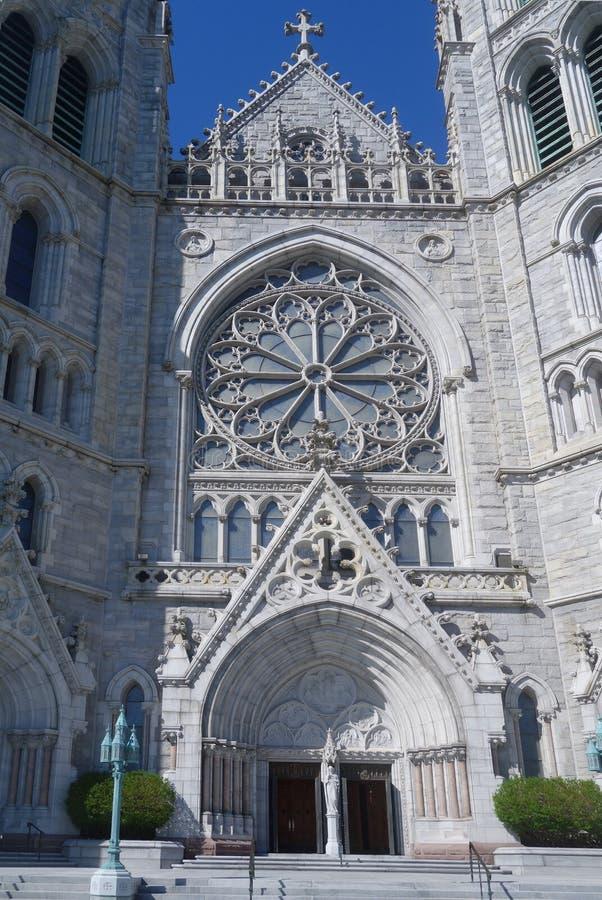 Basílica de la catedral del corazón sagrado foto de archivo
