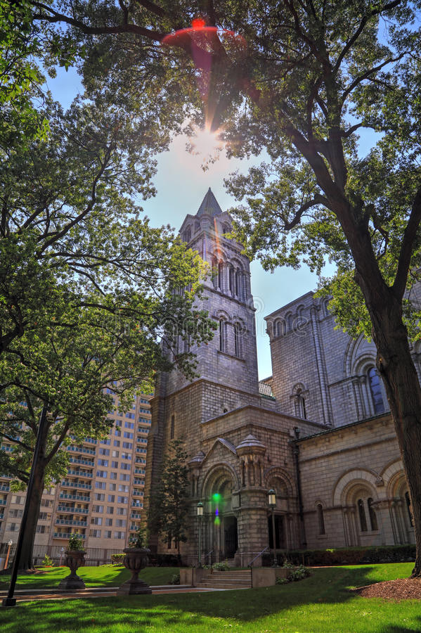 Basílica de la catedral del Saint Louis fotografía de archivo