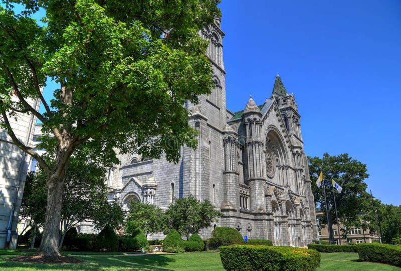 Basílica de la catedral del Saint Louis fotos de archivo