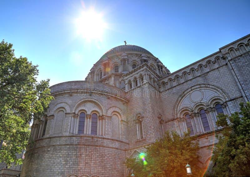 Basílica de la catedral del Saint Louis fotos de archivo libres de regalías