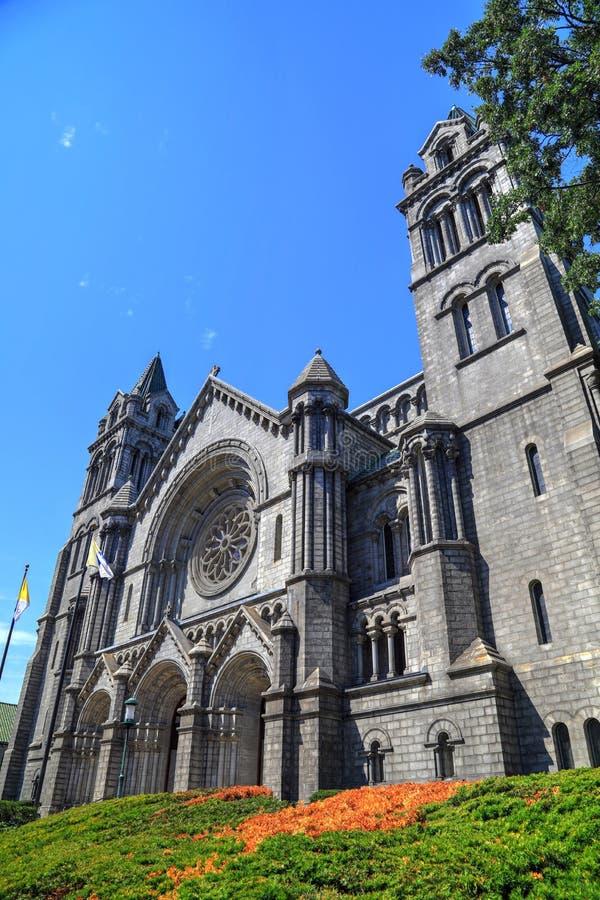 Basílica de la catedral del Saint Louis imagenes de archivo