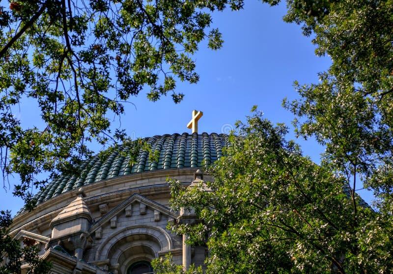 Basílica de la catedral del Saint Louis foto de archivo libre de regalías