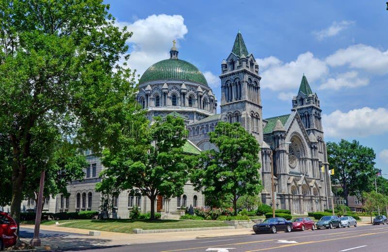 Basílica de la catedral en St. Louis, Missouri foto de archivo libre de regalías