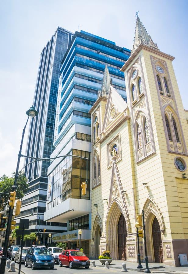 Basílica de la Merced Guayaquil fotos de stock royalty free