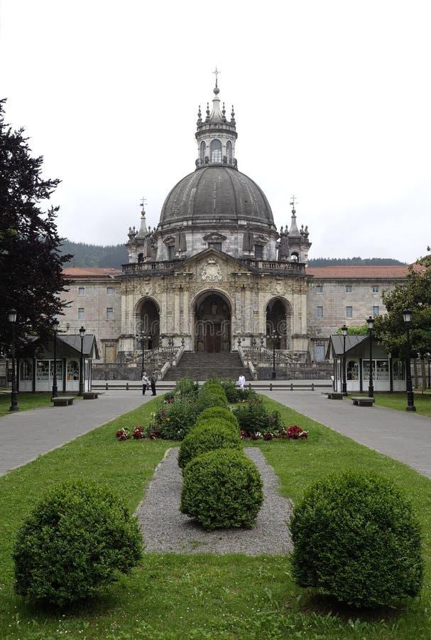 Basílica de Loiola em Azpeitia (Espanha) fotos de stock royalty free