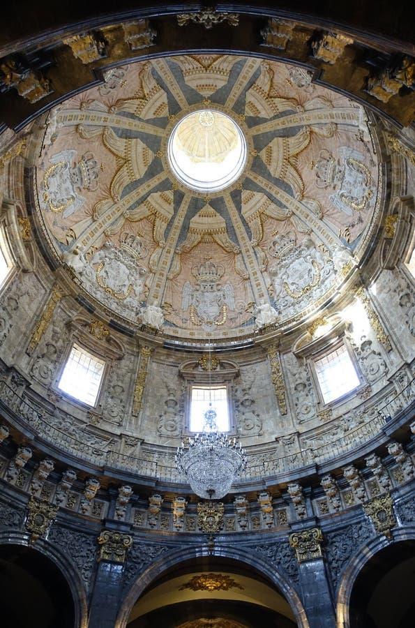 Basílica de Loiola en Azpeitia (España) imágenes de archivo libres de regalías