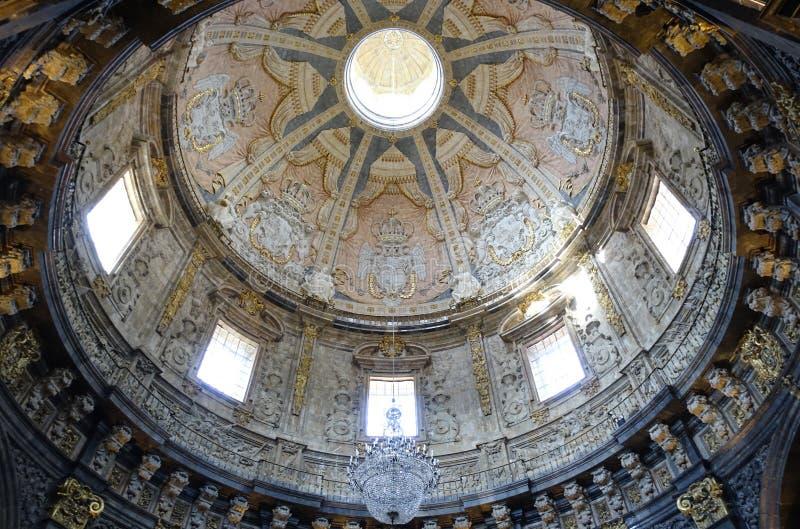 Basílica de Loiola en Azpeitia (España) imagen de archivo