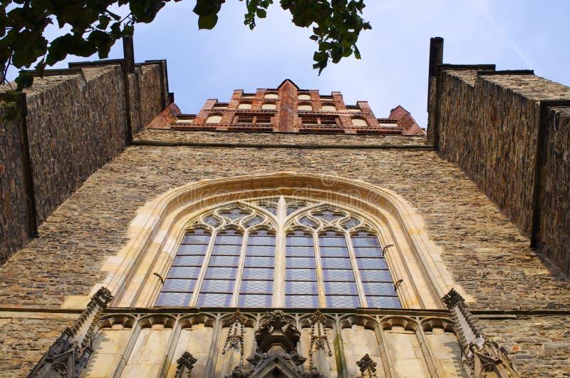 Basílica de los apóstoles santos Peter y Paul, Polonia fotos de archivo