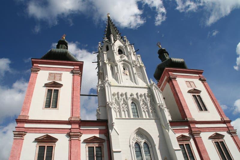 Basílica de Mariazell imagens de stock