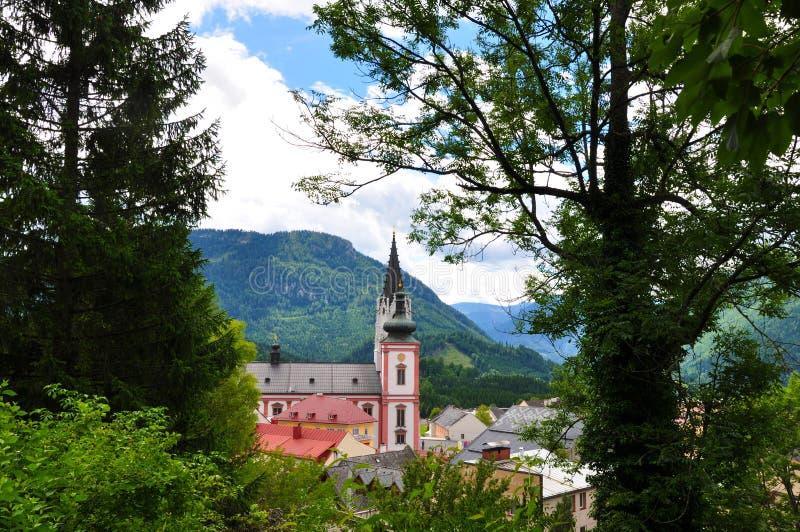 Basílica de Mariazell fotos de stock