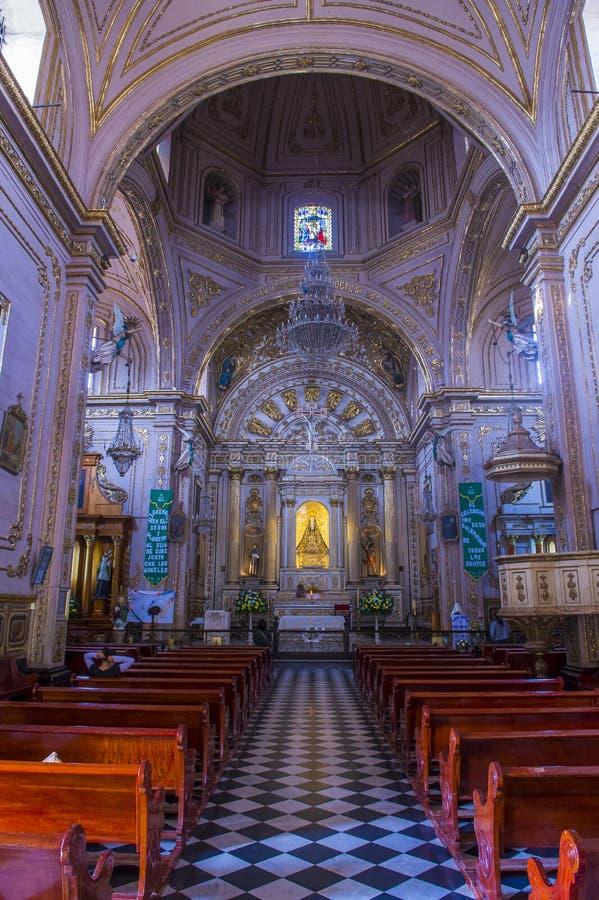 A basílica de nossa senhora da solidão em Oaxaca México foto de stock royalty free