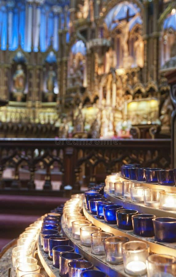 Basílica de Notre Dame fotos de stock royalty free