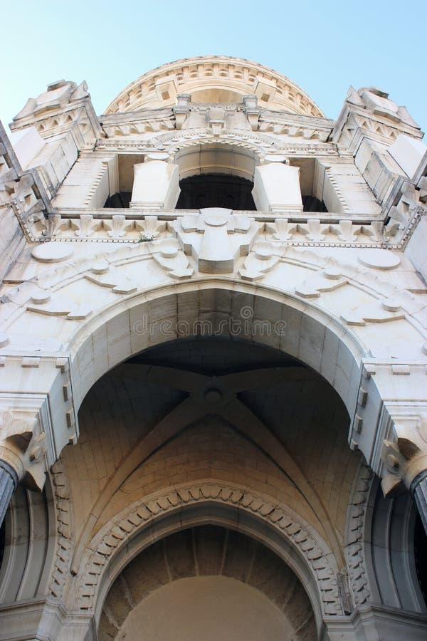 Basílica de Notre Dame de Fourviere em Lyon imagem de stock royalty free