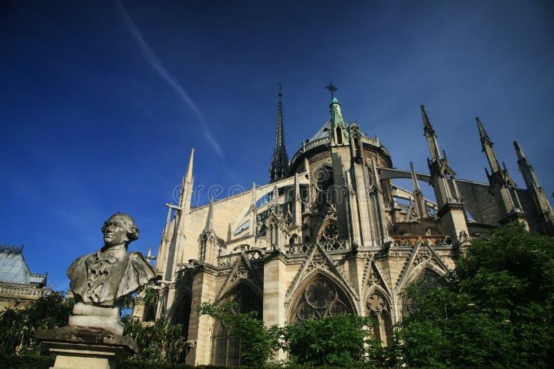 Basílica de Notre Dame em Paris imagem de stock royalty free